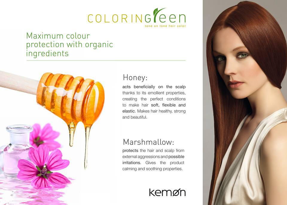 Gentle, Organic Hair Color by Kemon